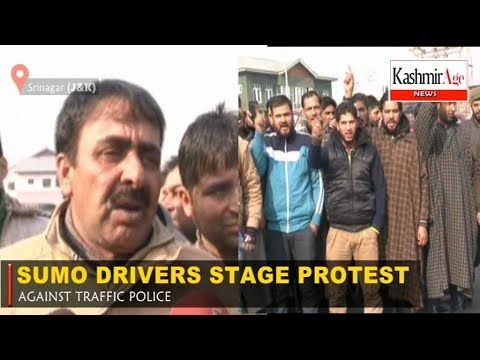 SUMO DRIVERS STAGE PROTEST AGAINST TRAFFIC POLICE