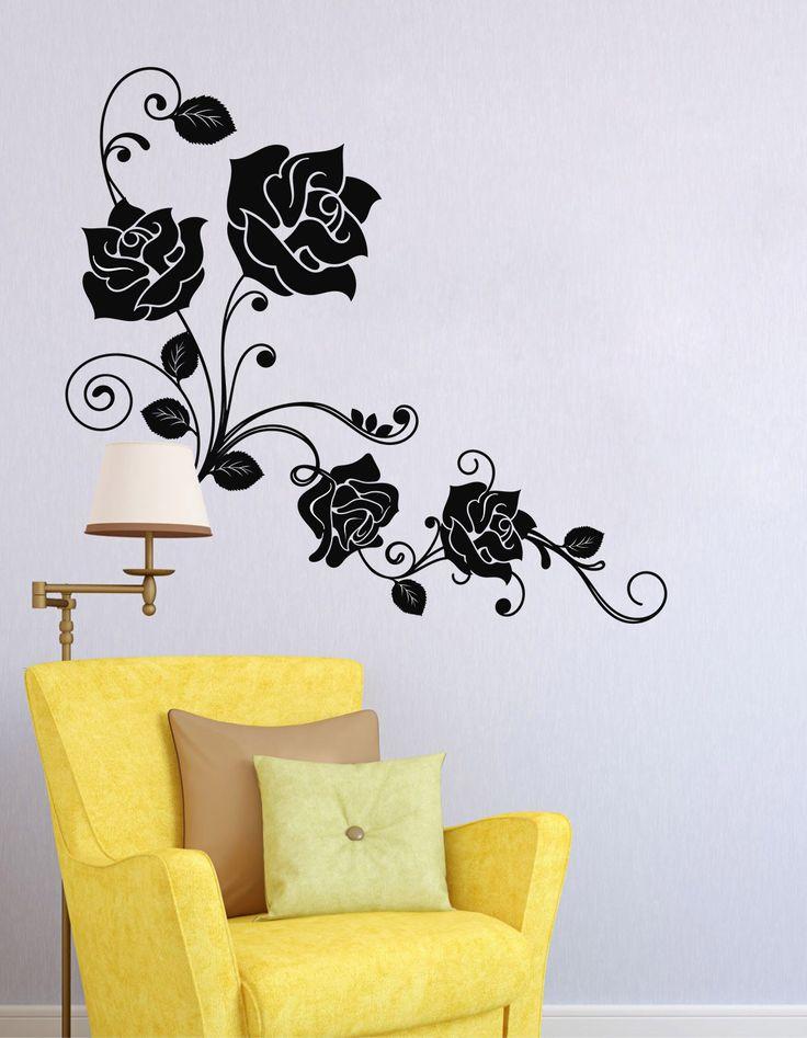 Rosas Vintage - Vinilos Decorativos Fotomurales Adhesivos - Medellín