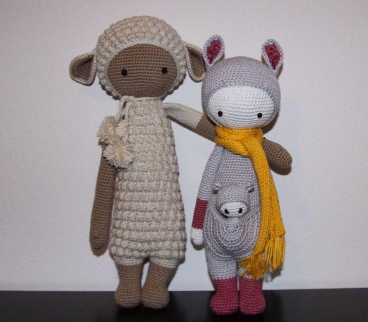 Lalylala Lupo the Lamb and Kira the Kangaroo