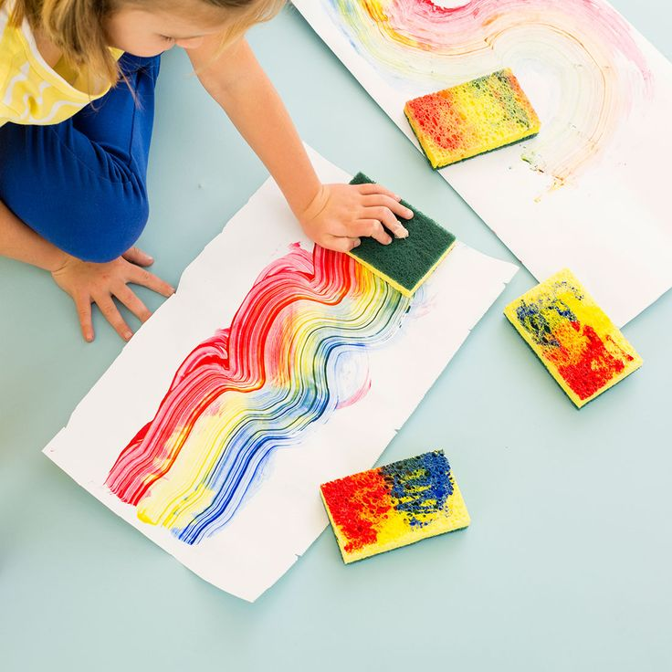 3 Rainbow Kid Activities That Are Totally Worth the Mess via Brit + Co