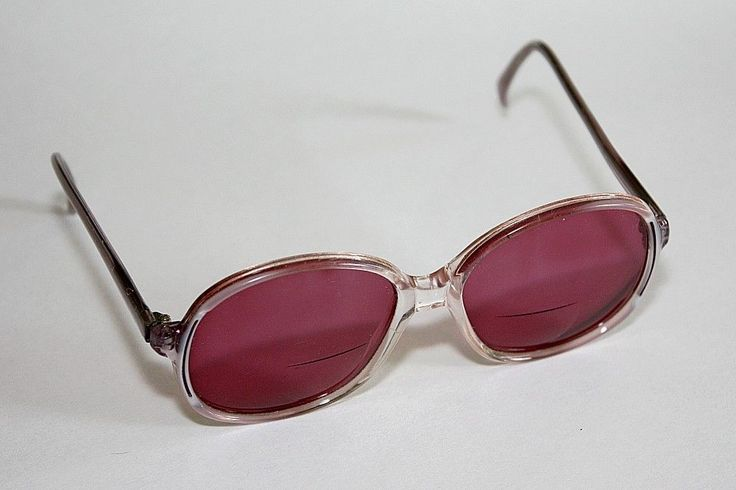 Vintage 80's Sunglasses Burgundy Lenses / NEDRA CLOUD MAUVE Made In France Frame #NedraCloud #Oval #BeachVacationCruiseResort