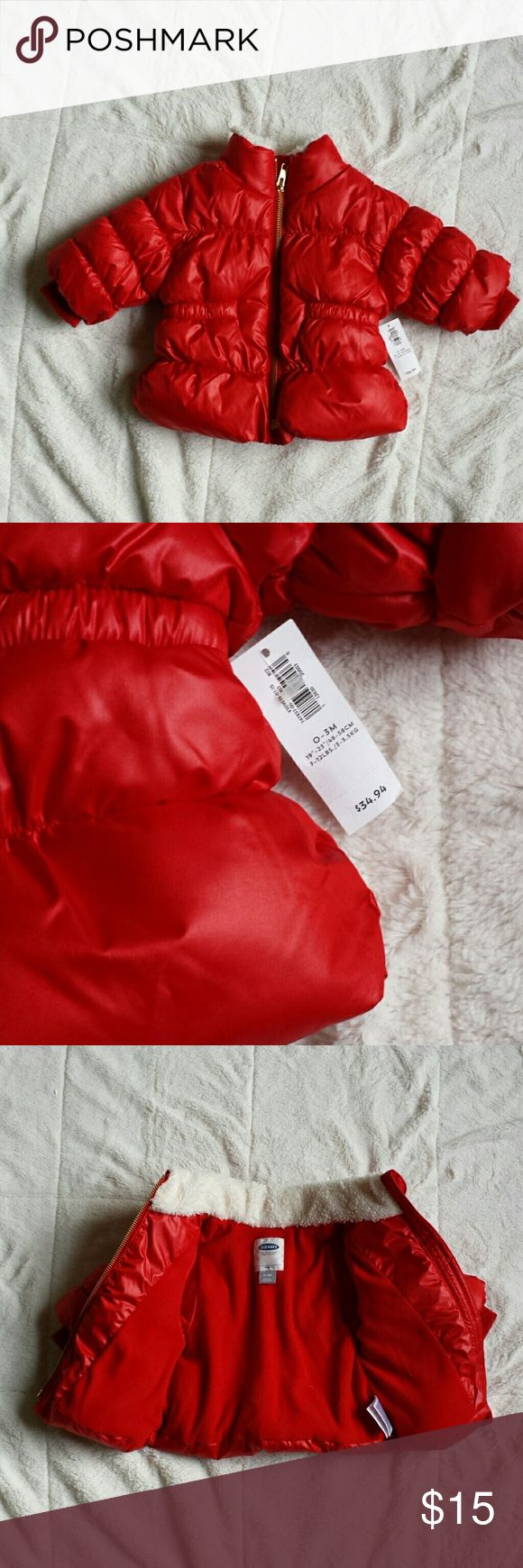 New! Old Navy baby puffer New! Old Navy baby puffer Size 0-3m Old Navy Jackets & Coats Puffers