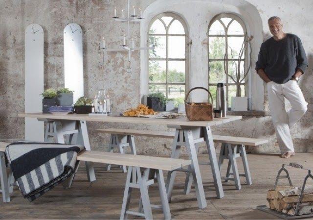 homestyling inspiration: Gammal träbänk