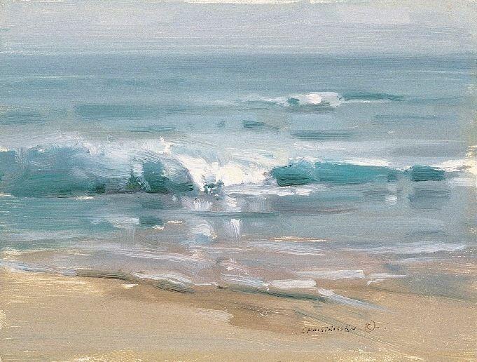 """Scott Christensen - """"Waters of Kauai"""", 6x8"""