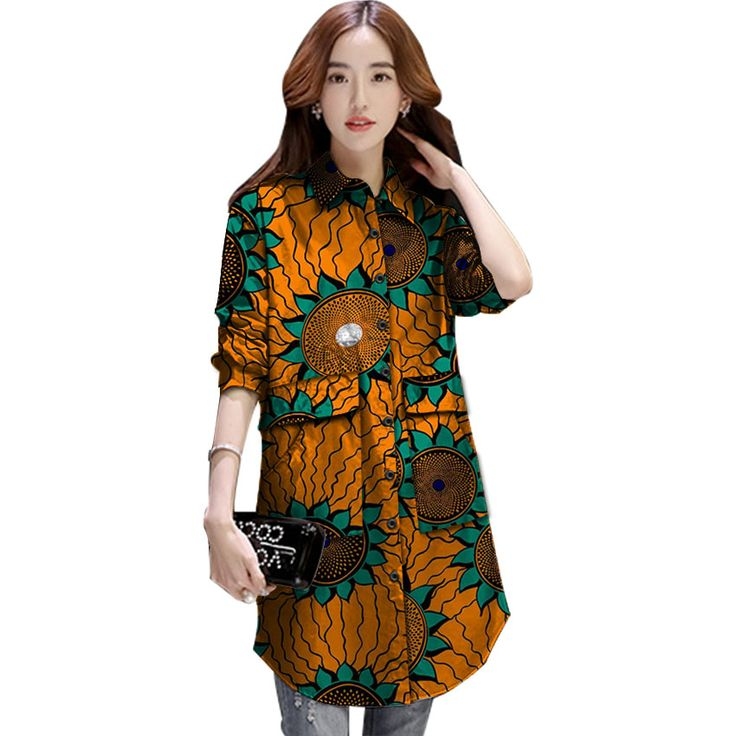 ==> [Free Shipping] Buy Best Personal tailor women outwear african print dashiki clothes custom exquisite tailoring design fashion coat africa clothing Online with LOWEST Price | 32824702966