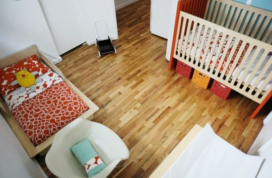 Design Solutions for Shared Kids Bedrooms.....It's also often a necessity in small homes or when the child-to-bedroom ratio requires it. But designing a shared bedroom stumps many parents - do you go for a cohesive share-and-share-alike look or try to give each child their own bit of space to express their personality? While the size of the room may dictate which approach you take, here are some visual tips from shared kids rooms to get you started.