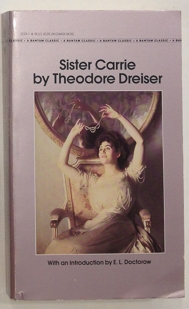the difficult task of defining sister carrie by dreiser Task 1 reading / vocabulary sister carrie, unfortunately for dreiser - (5) i found it difficult to understand.