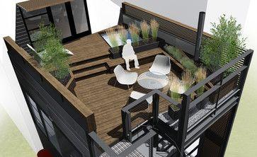 79 Best Roof Top Deck Ideas Images On Pinterest