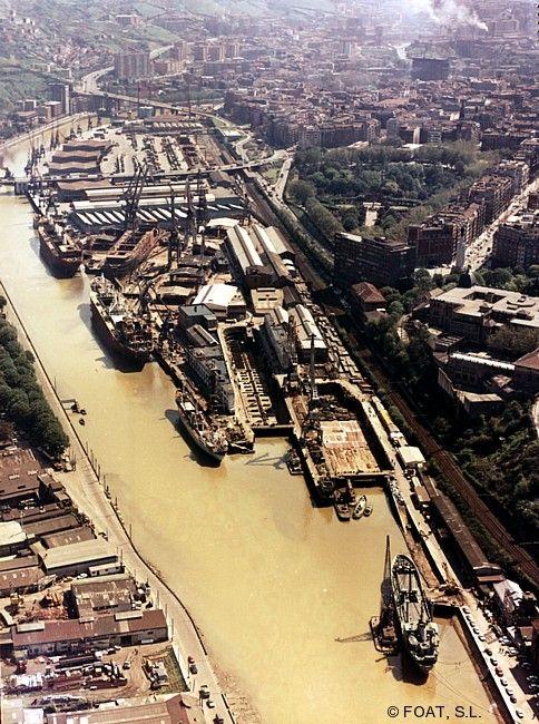 Astillero Euskalduna (Bilbao en 1970)