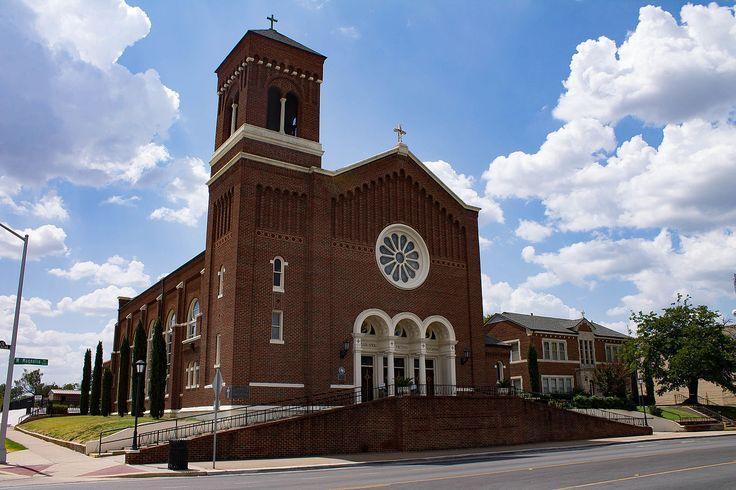 St. Mary of the Assumption Church in Tarrant County, Texas.