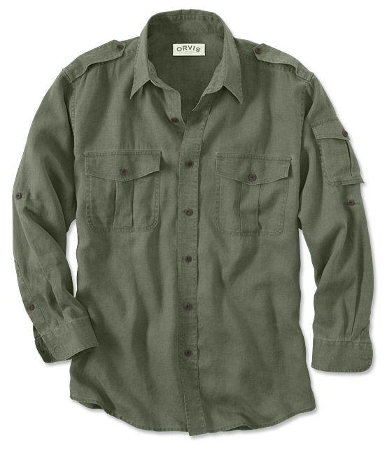 Linen Bush Shirt