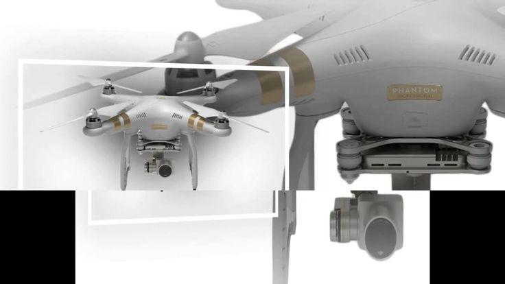 "Drone Camera ""Dji Phantom 3 Professional Quadcopter Drone With 4k Uhd Vi..."