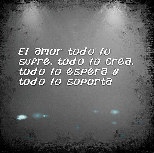 ...el amor...