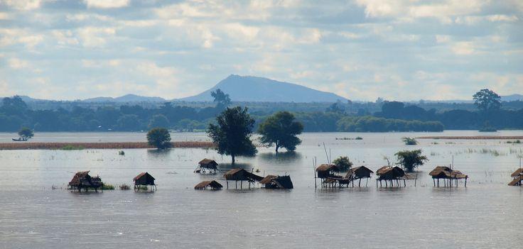 The flooded Ayerwaddy