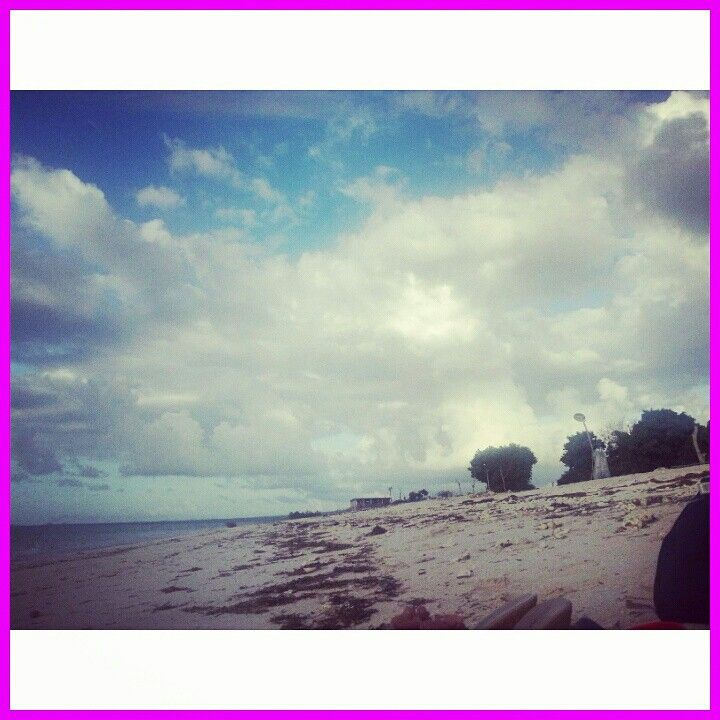 Blue sky, blue ocean, white sand#Tablolong beach, NTT