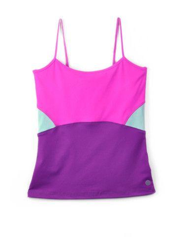Girls Colourblock Shelf-bra Tank   $15.00