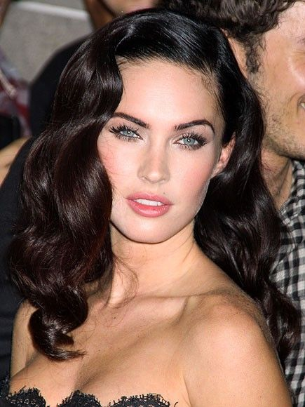 megan fox hair styles 102 best images about bombshell on 4082 | 916874e90b88d1b04bd6ce04cd87a0b2 wave hairstyles vintage hairstyles