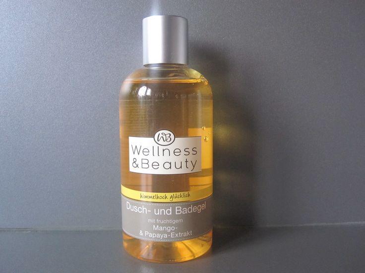 #sfmbox Januar:  Wellness & Beauty Dusch- & Badegel mit fruchtigem Mango- & Papaya-Extrakt