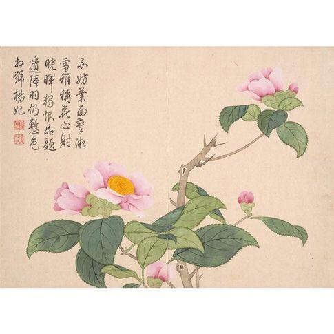 Qian Weicheng: Camellas Print - The Met Store