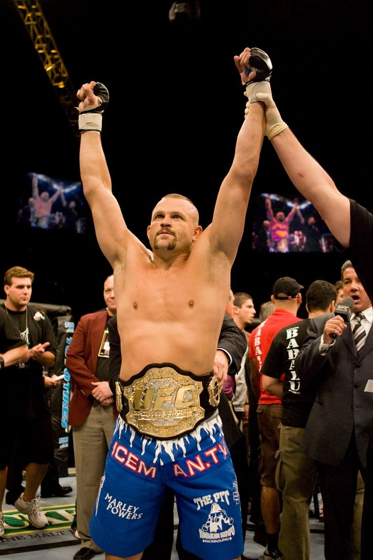 """Chuck """"the iceman"""" Liddell. My favorite UFC fighter of all time."""