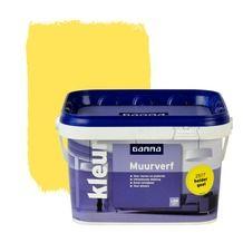 GAMMA muurverf helder geel mat 2,5 liter