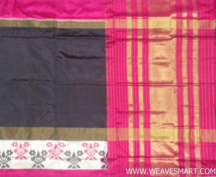 Pochampally-ikat-silk-saree - POC01866
