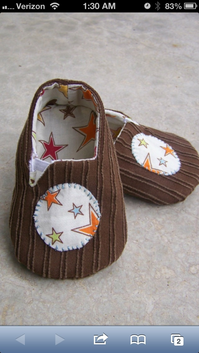 I Want To Make Baby Shoes