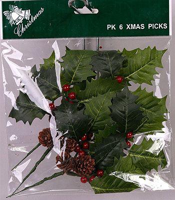 Hulstblad prikker. Hulstblad prikker voor in uw kerststukjes. Versier uw…