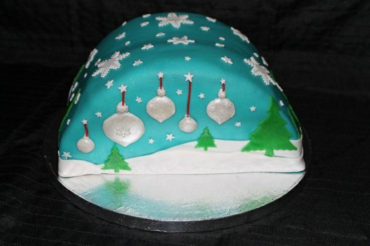 Kersttaart - JouwTaart