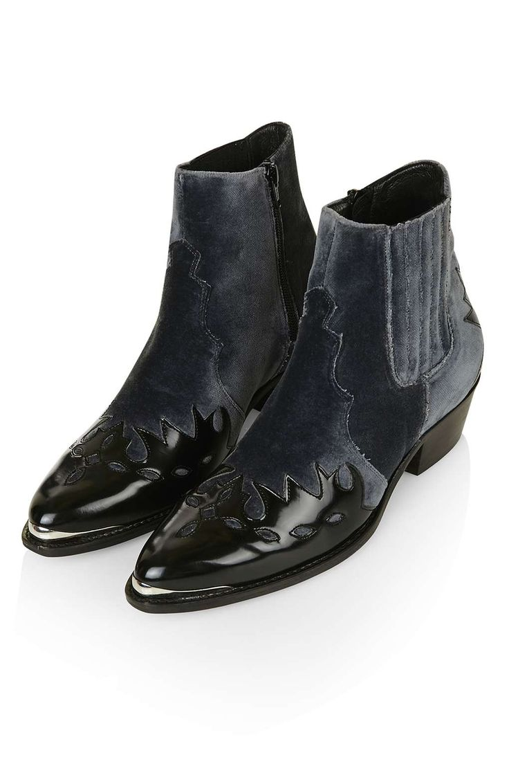 ARSON Western Ankle Boots