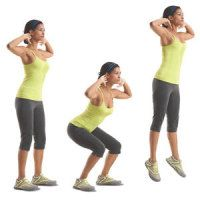 A complete circuit workout using just your body weight, no equipment.