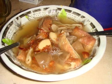 Timlo Solo is a local oriental chicken soup that only can be found in Solo - Central Java.