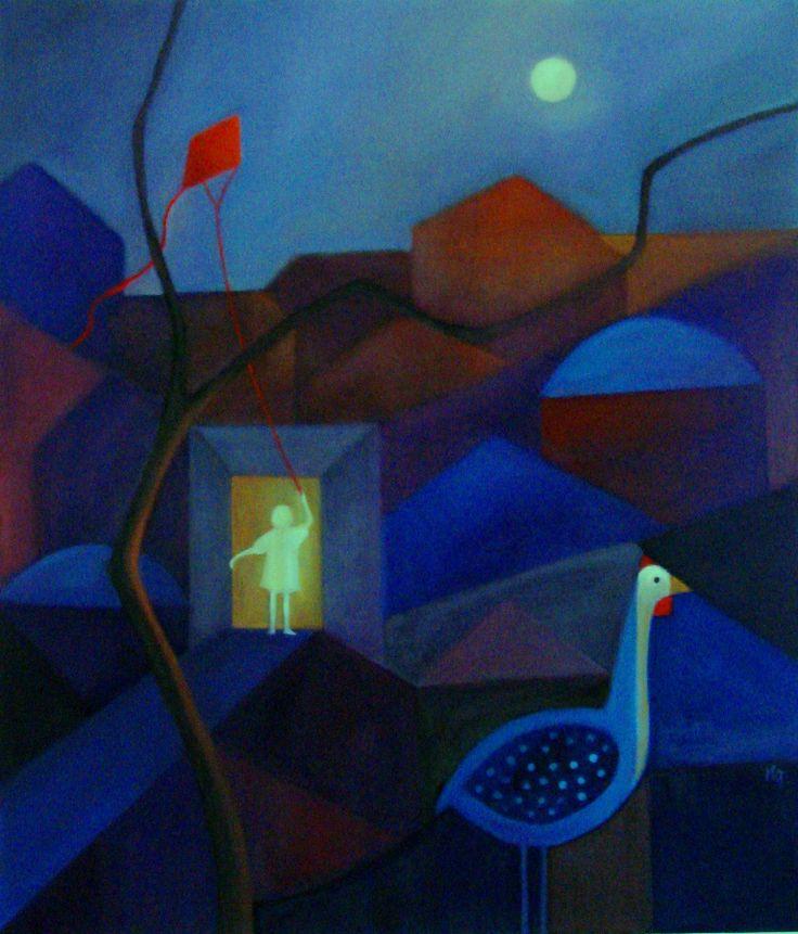 innocence serie,,oil on canvas