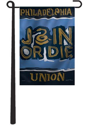 Philadelphia Union Team Logo Garden Flag
