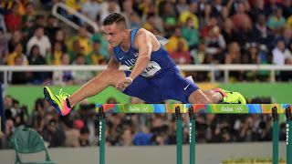 Former Puget Sound resident Devon Allen finishes fifth in 110 hurdles final at Olympics...