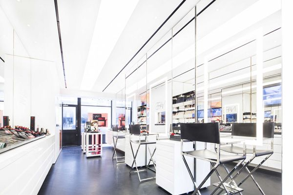 Nars cosmetics opens its first boutique in london retail for Retail interior designers in london