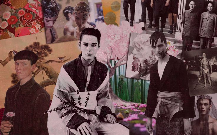 Dimitris Petrou F/W 2013-14 Collection - Moodboard by Ubicouture