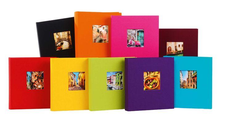 goldbuch Fotoalbum Bella Vista als Fotobuch gebunden in der Größe 25x25cm oder 30x31cm