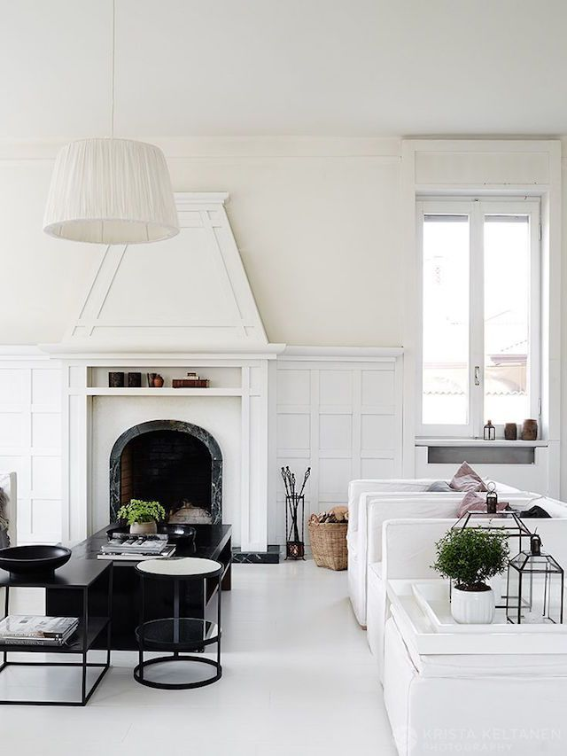 Step inside the charming home of a Swede living in Italy