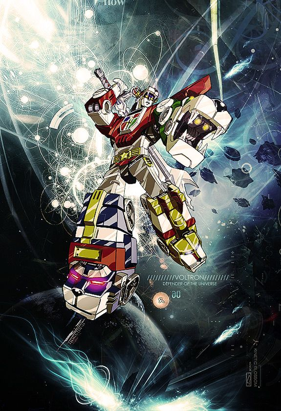 This is the only Voltron I will admittedly recognize from my childhood.