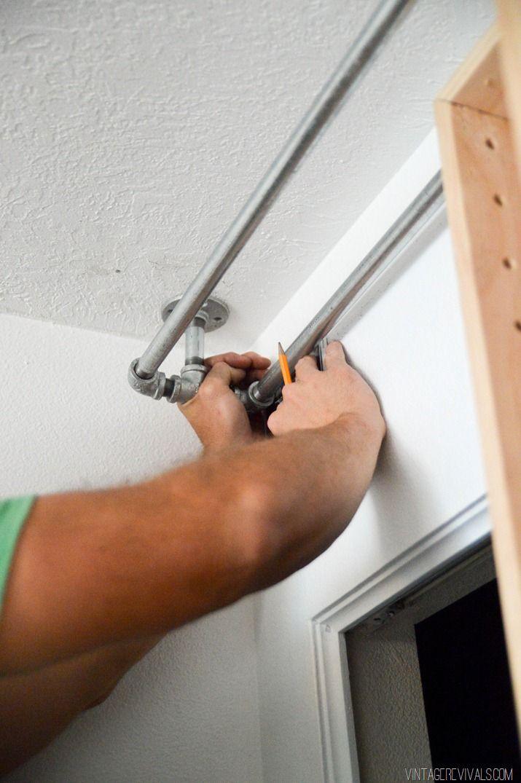 DIY Bypass Closet Doors-19                                                                                                                                                                                 More