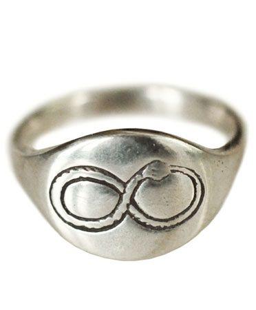 Silver Ouroboros Ring