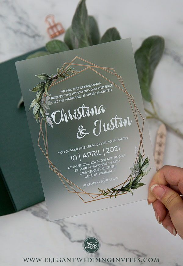 Acrylic Wedding Invites Elegantweddinginvites Acrylic Wedding Invitations Wedding Invitations Diy Wedding Invitations