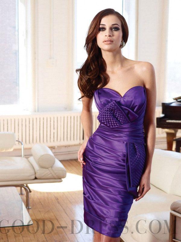 97 best Short Bridesmaid Dresses images on Pinterest | Short dresses ...