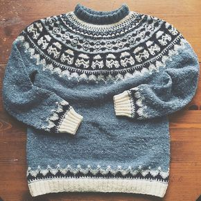 Ravelry: Sweater with Storm Troopers pattern by Natela Astakhova