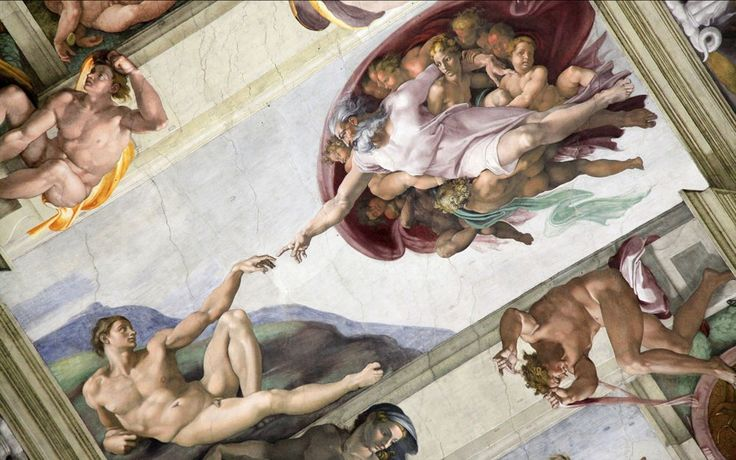 The Sistine Chapel in the Vatican is renowned for its Renaissance art, especially the ceiling painted by Michelangelo.