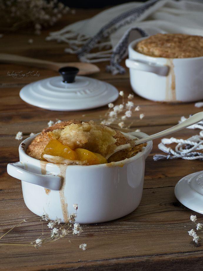 Cobbler de melocotón individual {Peach Cobbler} - Pemberley Cup & Cakes