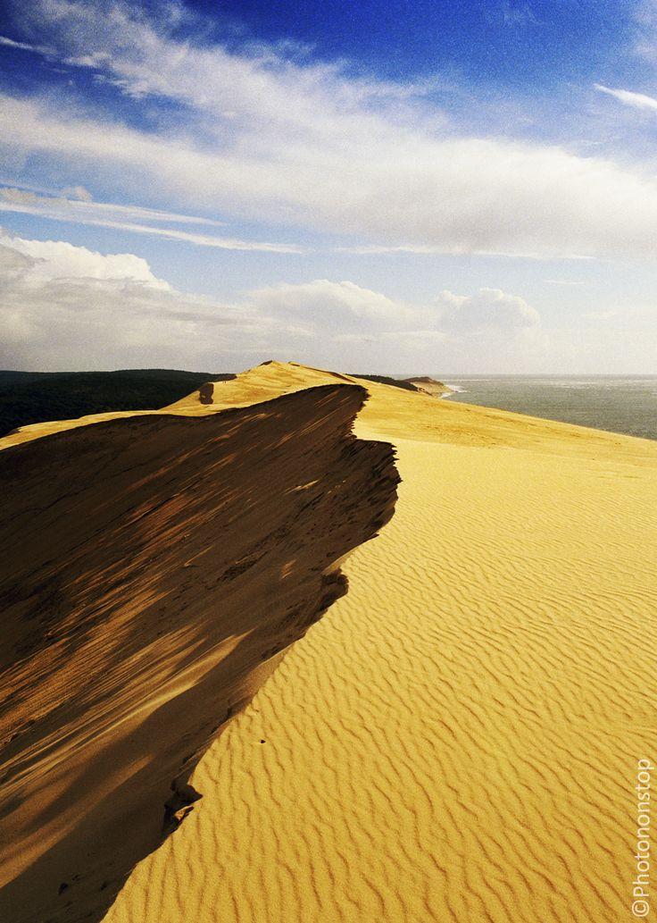 Le Bassin d'Arcachon, entre terre et mer : La dune du Pilat (The Great Dune of Pyla, France)
