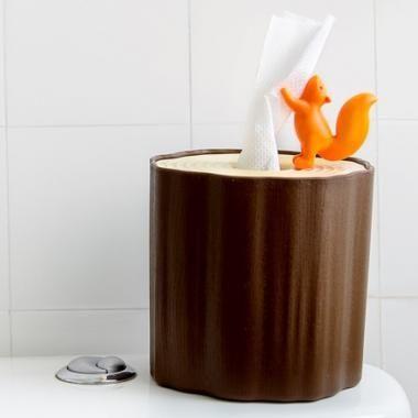 Tissue/Toiletrol-houder 'Squirrel' (Qualy)