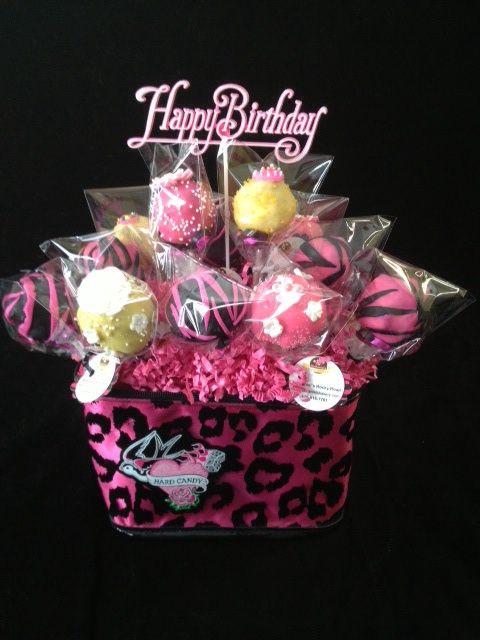 Animal inspired cake pops for a special little girl.